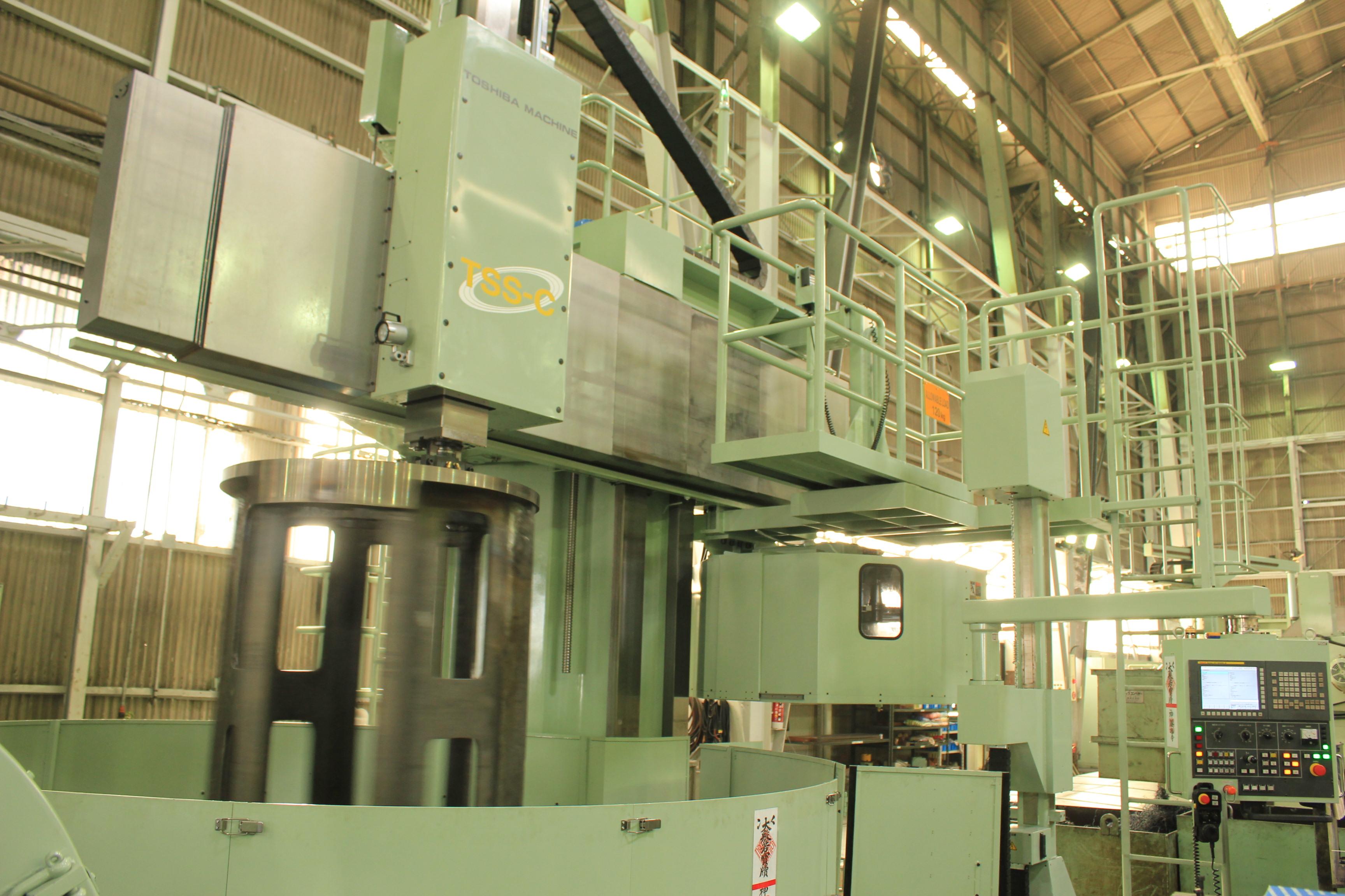 常石鉄工、第二機械工場に新竪型旋盤を導入 ~品質向上・コストダウンを実現~