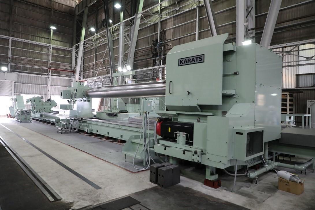 常石鉄工が新たに大型NC旋盤を導入 ~最新機器で舶用、製鉄など多様な大型軸加工に対応~